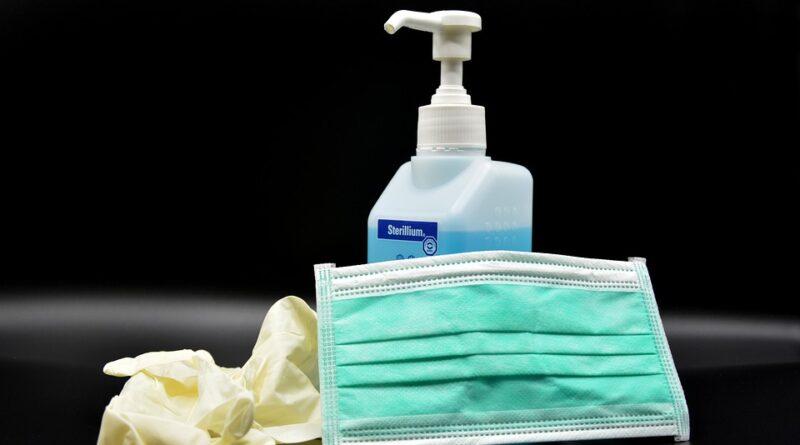 Itens usados na higienização e prevenção ao novo coronavírus