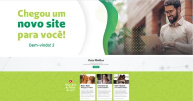 Novo site Unimed Paraná