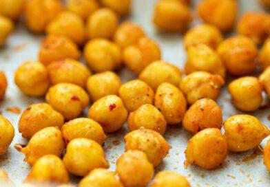 Snacks saudáveis: receita de petisco de grão-de-bico