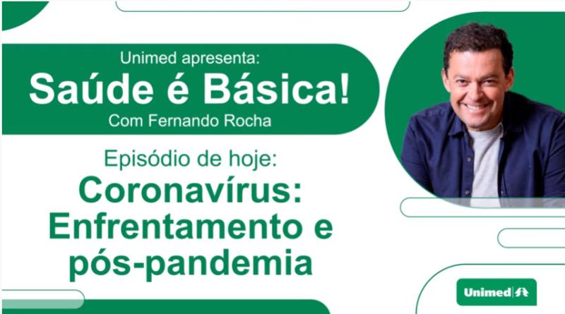 Presidente da Unimed Paraná  participa de podcast sobre Covid-19