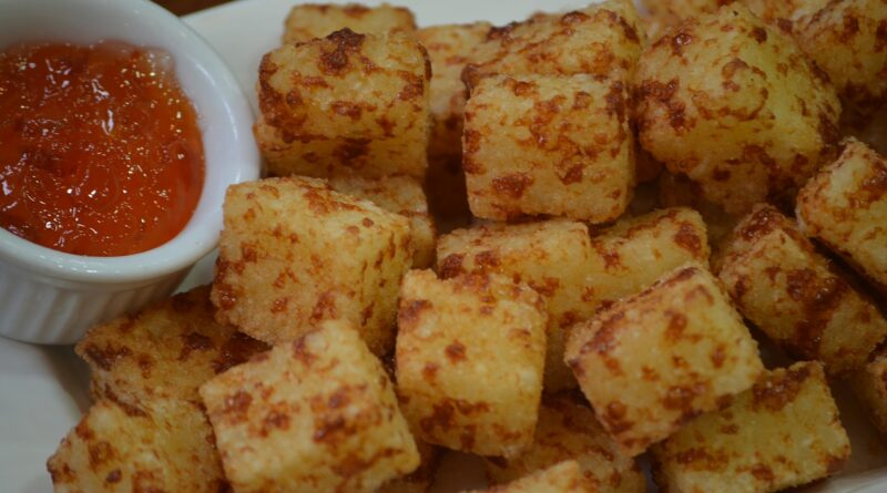 Receita de dadinhos de tapioca