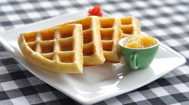 Receita waffle sem glúten