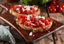 Snacks saudáveis: aprenda a fazer bruschetta de tomate