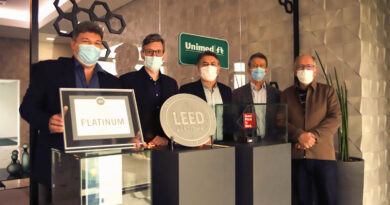 Unimed Paraná recebe certificação LEED Platinum