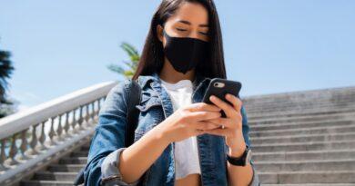Máscara pós-pandemia