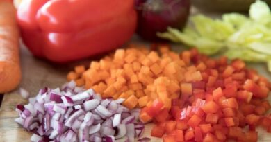 Como cortar os legumes
